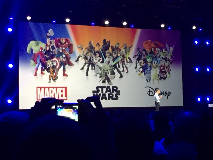 Star Wars joins the Infinity universe! Announcement at D23 Expo 2015