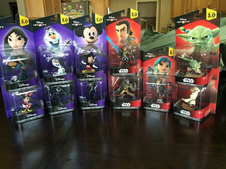 Some of the additional Star Wars and Disney characters you can add to your Toy Box in Infinity 3.0