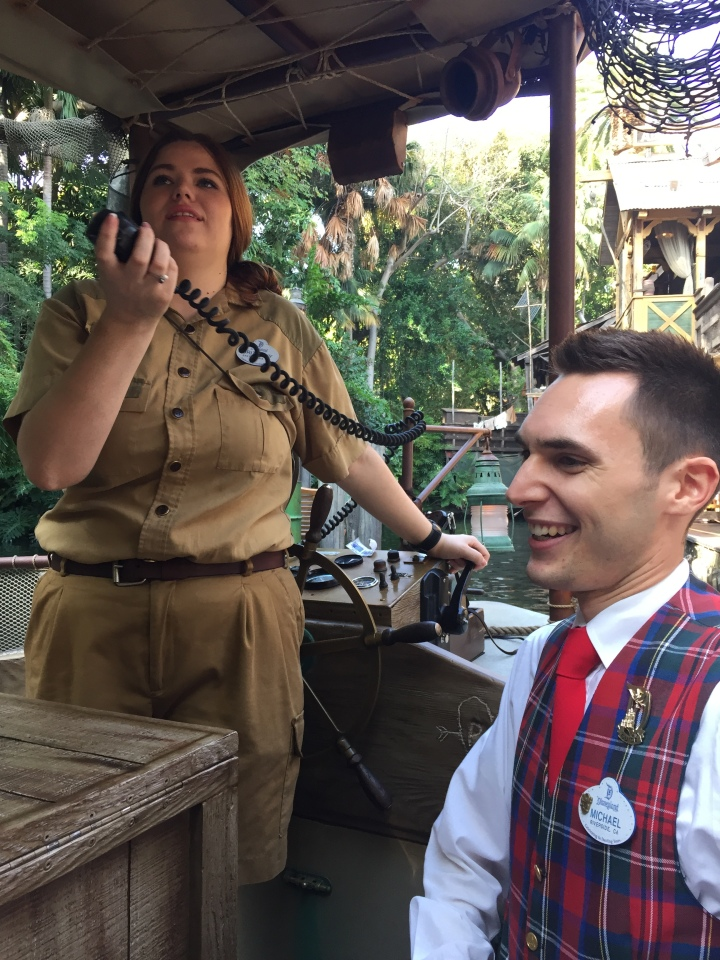 Our tour guide Michael as we headed out on our Jungle Cruise personalized excursion