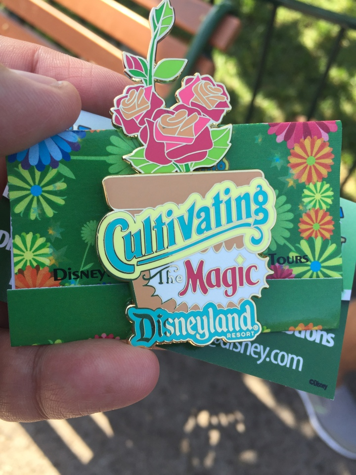 The Cultivating the Magic Tour pin