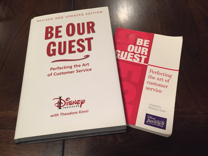 Be Our Guest - both the original and updated / revised edition