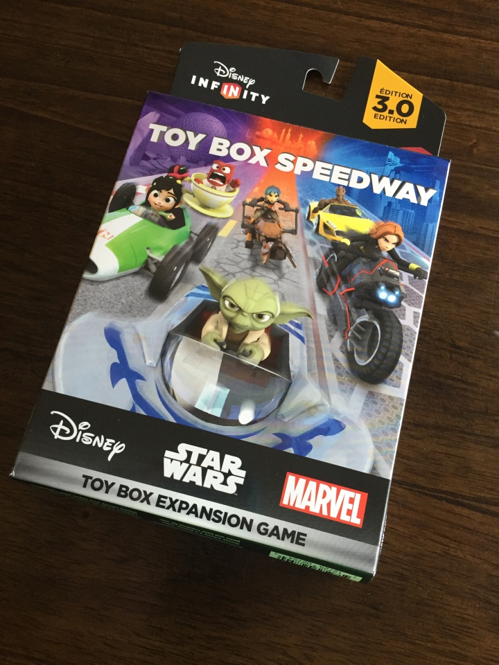 Toy Box Speedway - the newest addition to your Disney Infinity 3.0 system