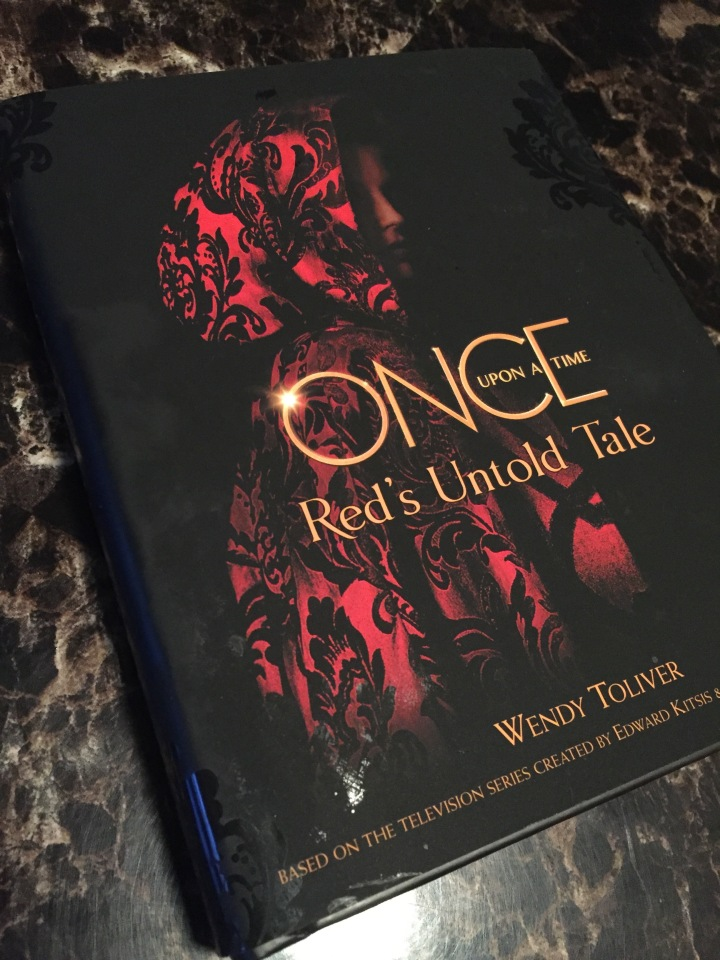 The cover of the new Once Upon A Time book, Red's Untold Tale