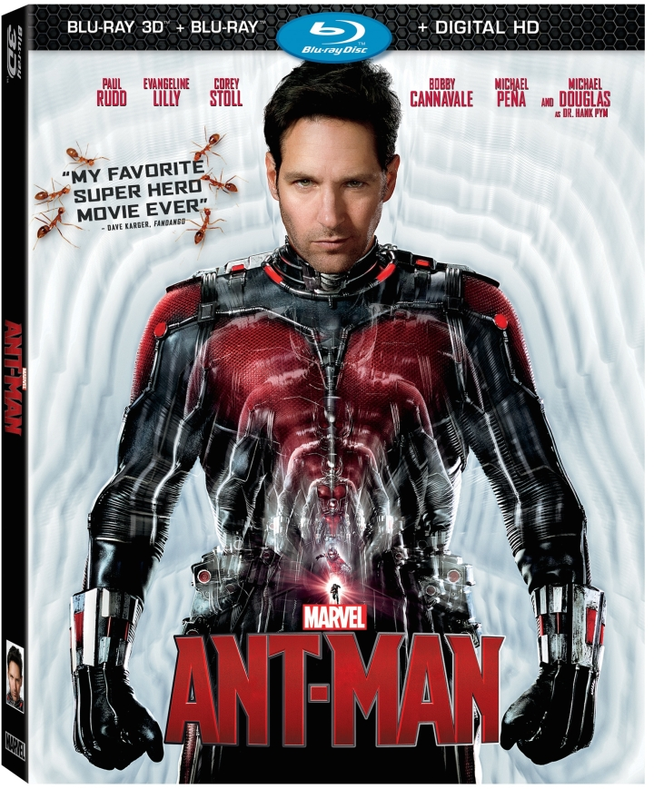 Cover for Ant-Man on 3D BluRay Combo