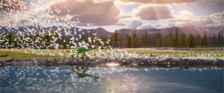 THE GOOD DINOSAUR - Pictured (L-R): Arlo, Spot. ©2015 Disney•Pixar. All Rights Reserved.