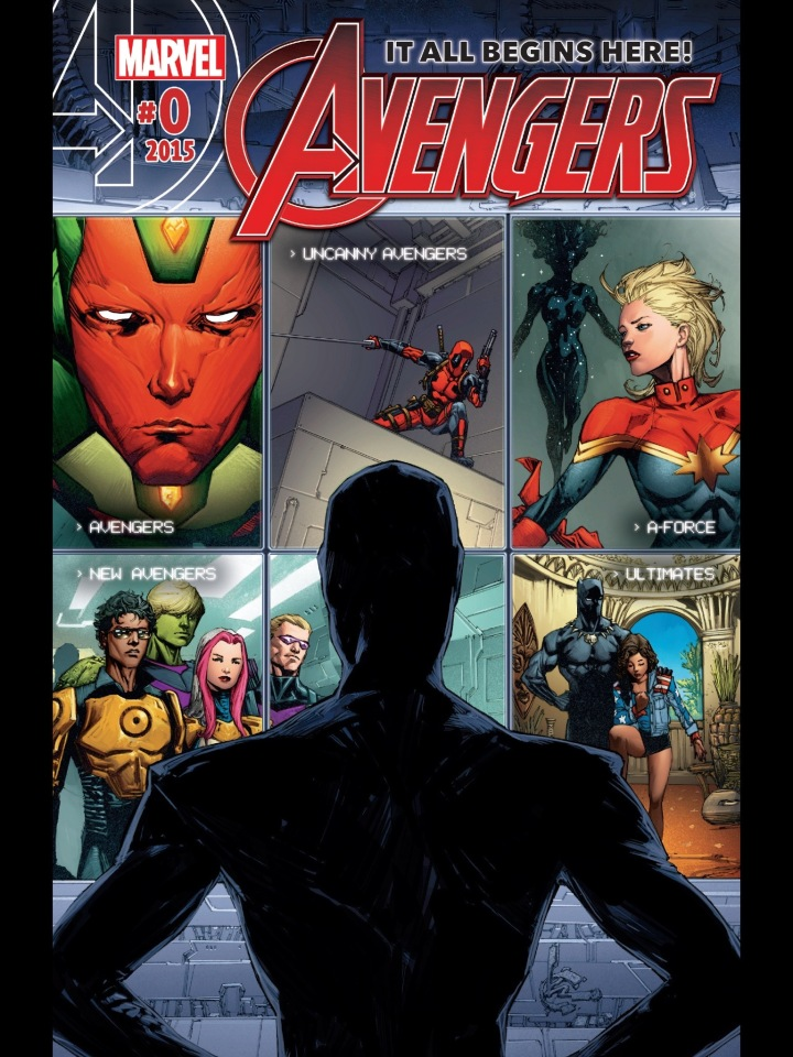 "The cover of Avengers #0 - basically a ""Point One"" book with a different name"