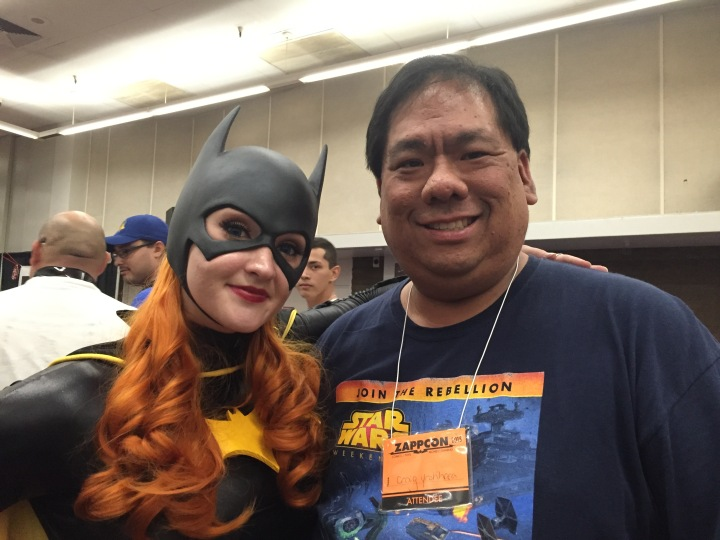 Meeting Holly in person at ZappCon - just the nicest person