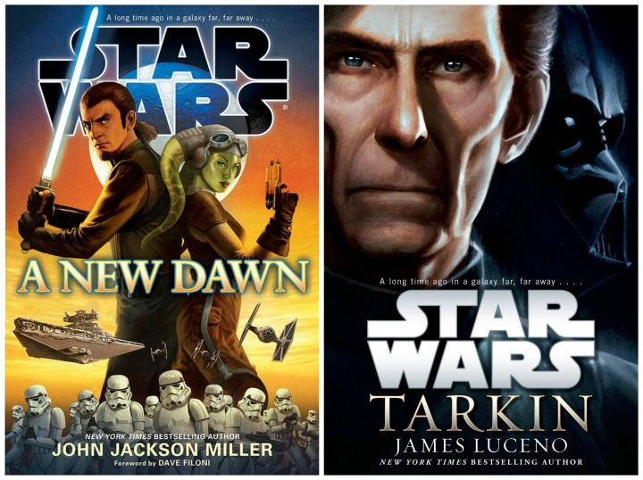 The Rise of the Empire is a collection of these two novels - A New Dawn and Tarkin