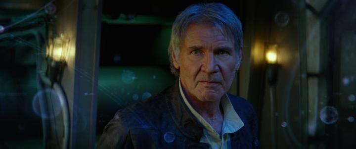 Star Wars: The Force Awakens..Han Solo (Harrison Ford)..Ph: Film Frame. Copyright 2014 Lucasfilm Ltd.; TM. All Right Reserved..