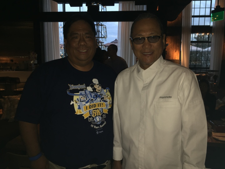 Wow...getting to meet Chef Morimoto in person was certainly a highlight of visiting his restaurant - even more than his amazing food