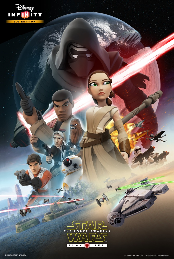 Promotional poster for The Force Awakens playset
