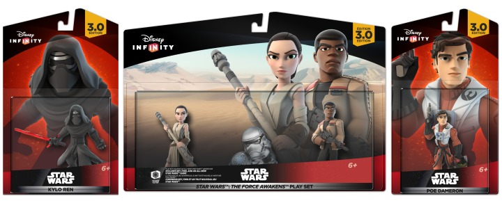 The new Force Awakens playset includes Finn and Rey and you can purchase Kylo Ren and Poe Dameron separately