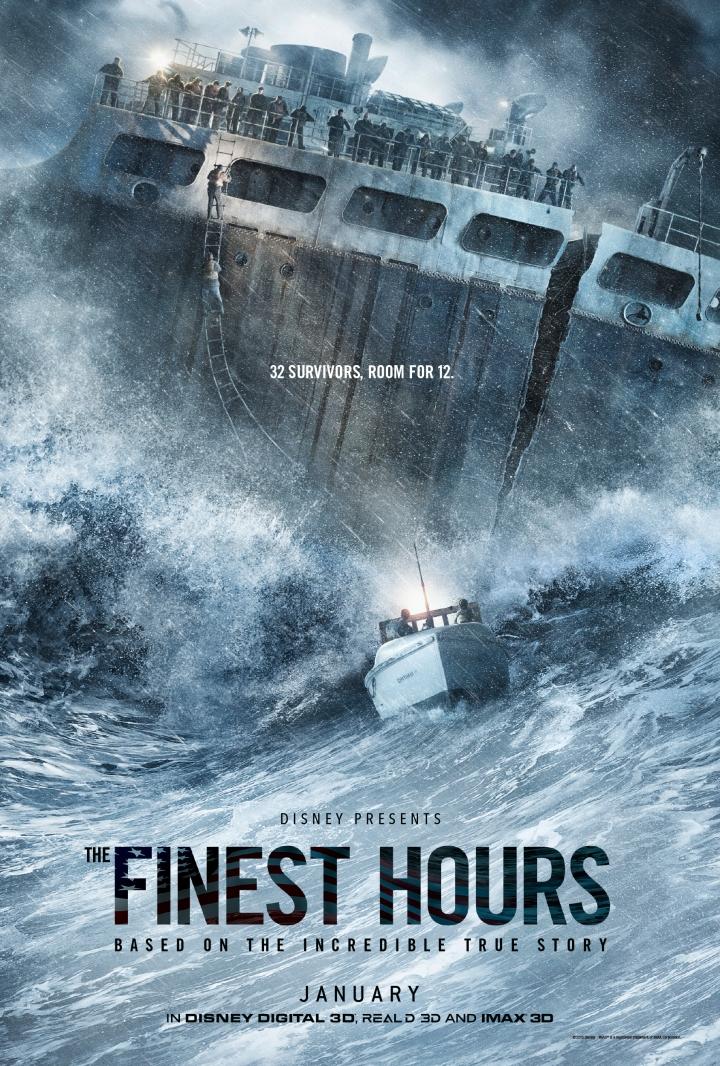 Finest Hours Teaser Poster