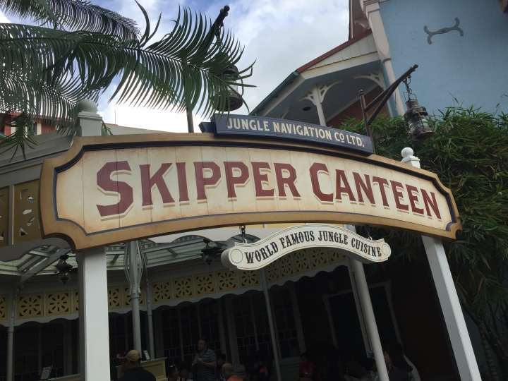 Skipper Canteen, the newest table service restaurant at the Magic Kingdom
