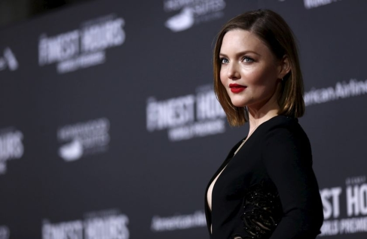 Holliday Grainger at the world premiere of The Finest Hours - photo courtesy of Reuters