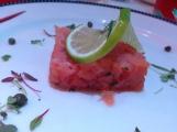 Love this tuna carpaccio from Animator's Palate