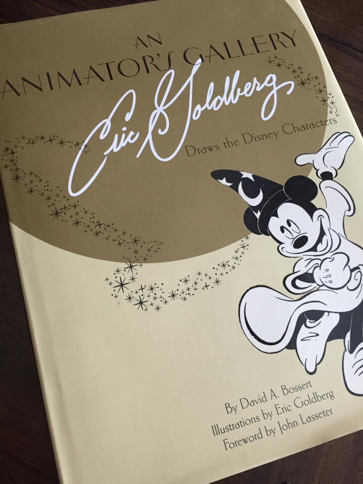 Animator's Gallery: Eric Goldberg is a beautiful oversized book for fans of Eric's work or those who love Disney characters