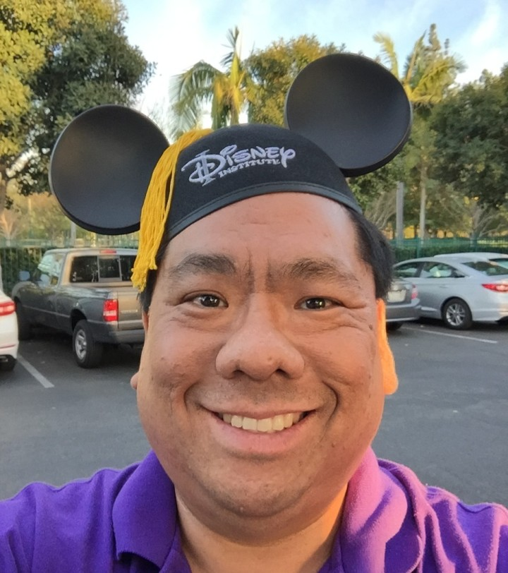 Look! I graduated from the Disney Institute!