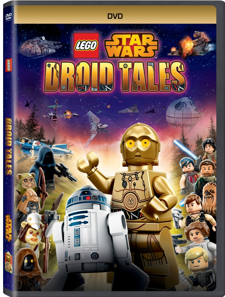LEGO Star Wars Droid Tales goes on sale on DVD March 1st