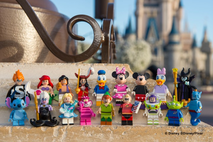 LEGO's lineup of Disney minifigures coming out May 1st