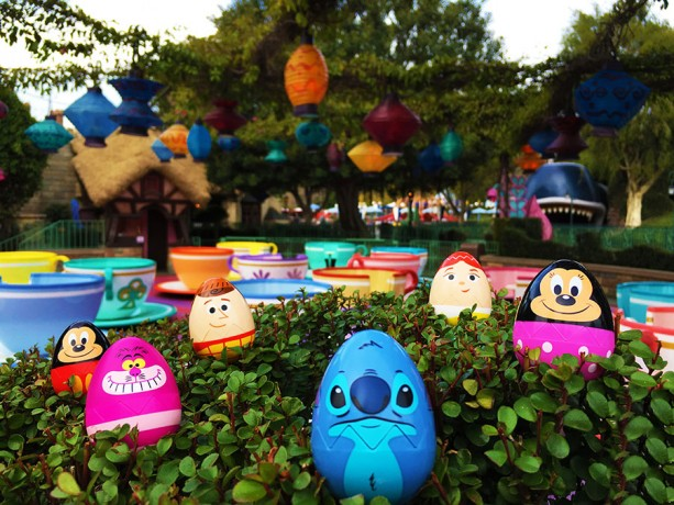 The prize eggs look so cute! - Courtesy of Disney Parks Blog