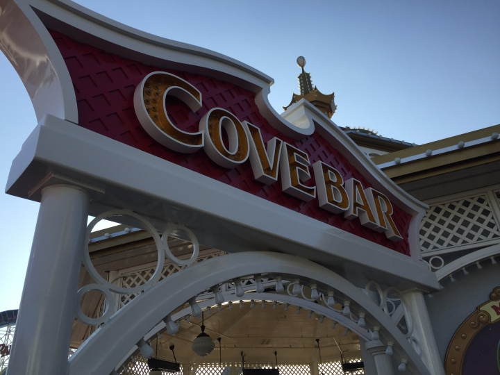 Cove Bar on Paradise Pier in Disney California Adventure