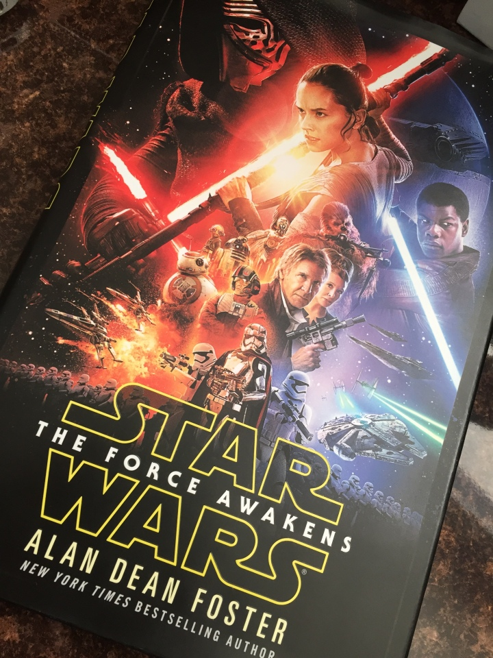 Star Wars: The Force Awakens novelization by Alan Dean Foster