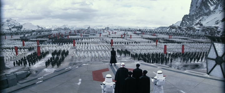 The First Order shows off their might on Starkiller Base