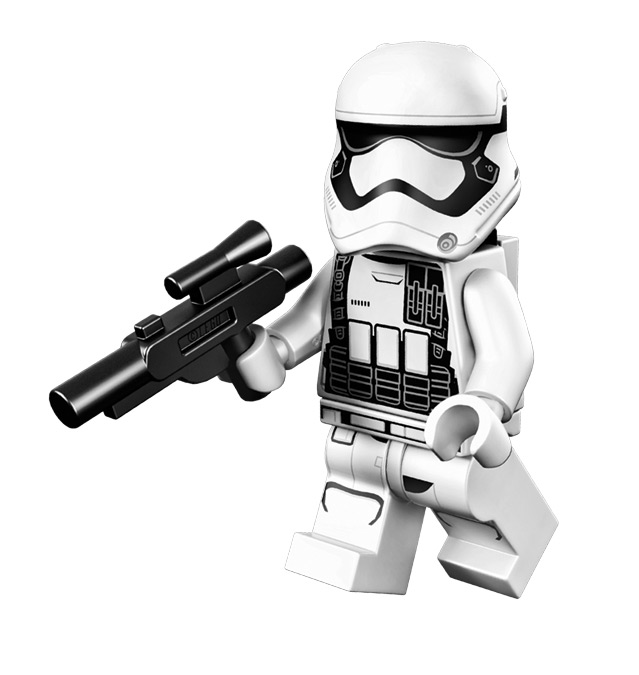 The cool and exclusive Star Wars: The Force Awakens First Order Stormtrooper available on qualifying purchases while supplies last