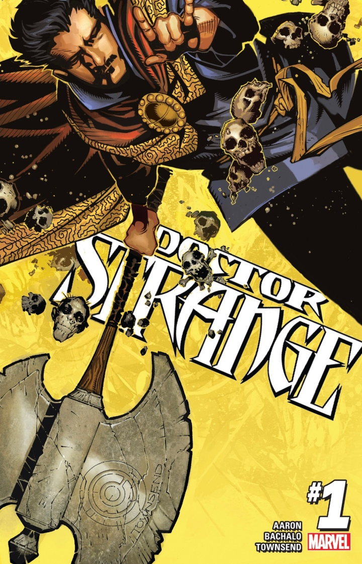 The cover for Doctor Strange #1 - Jason Aaron - writer; Chris Bachalo - artist