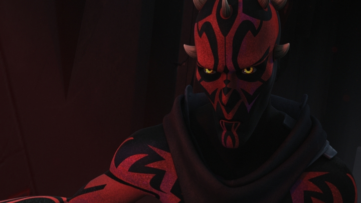 Darth Maul revealed in the Star Wars Rebels universe