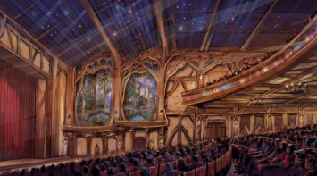 The new indoor theater featuring Disney entertainment will be officially in Fantasyland