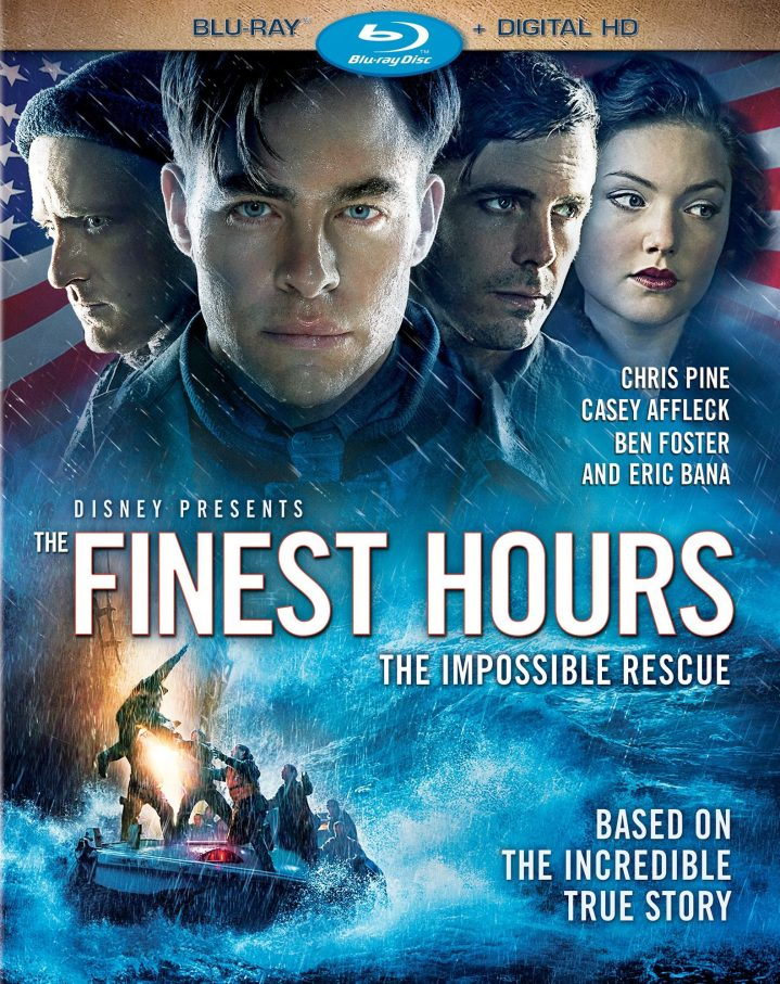 Cover for The Finest Hours on BluRay