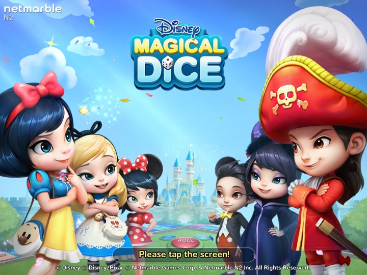 Disney Magical Dice is full of cute characters like these