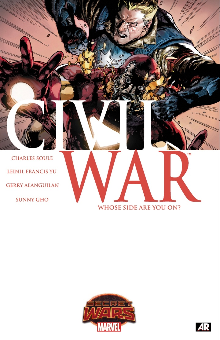 Much like the original Civil War, this is an alternate reality event based on Secret Wars