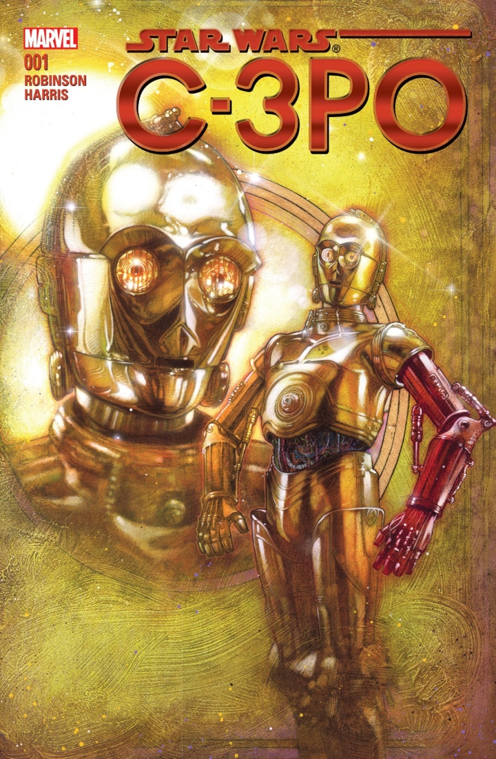 The cover artwork for C-3PO