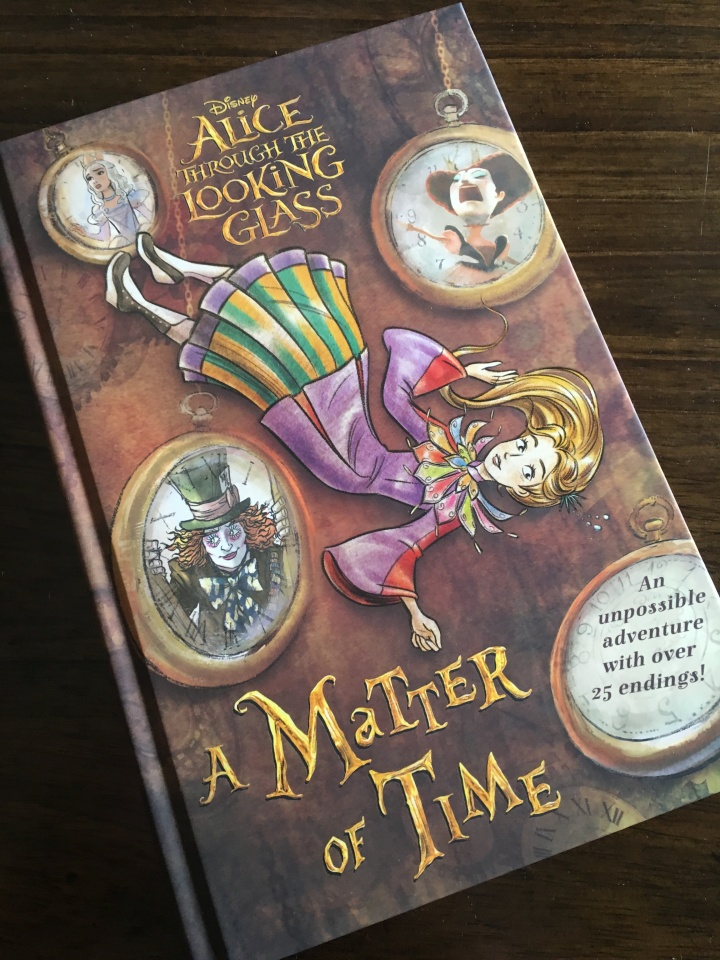 "Alice Through the Looking Glass: A Matter of Time is a fun and whimsical book similar to the classic ""Choose Your Own Adventure"" series"
