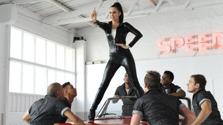 """A CINDERELLA STORY: IF THE SHOE FITS - Sofia Carson Stars in the Network Television Premiere of """"A Cinderella Story: If the Shoe Fits,"""" airing Sunday, November 27 at 8:00 p.m. EST on Freefrom. (WB) SOFIA CARSON"""