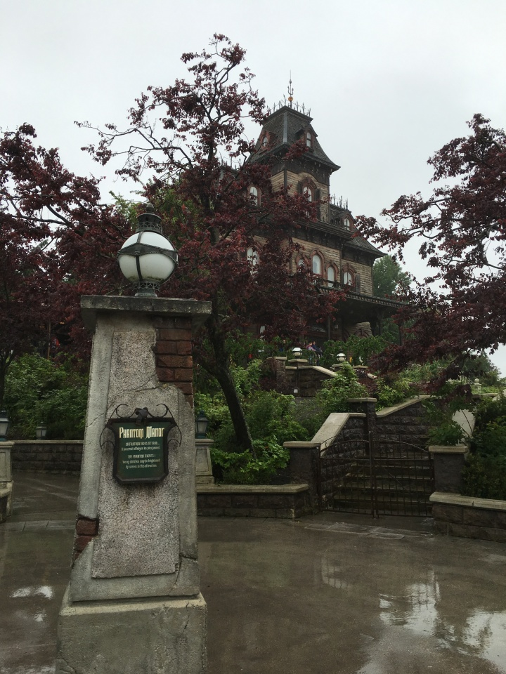 Phantom Manor is an unique and well-themed attraction different than any other Haunted Mansion