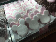 Mickey marshmallows (also come chocolate dipped)