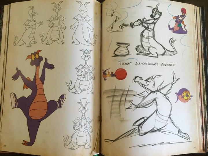 Now whether or not you consider Figment a dragon, he certainly has dragon elements as shown in the book