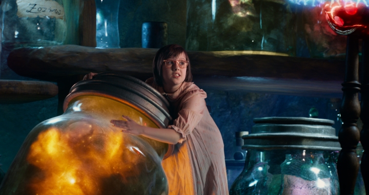 Ruby Barnhill does a terrific job as young Sophie who befriends The BFG