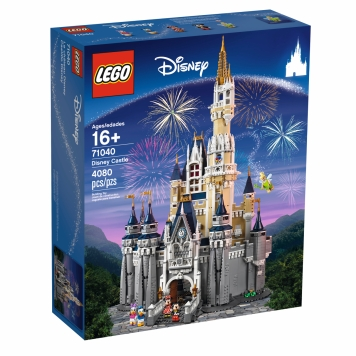 LEGO Disney Castle set to be released on September 1st. The first 16+ Disney set featuring over 4000 pieces