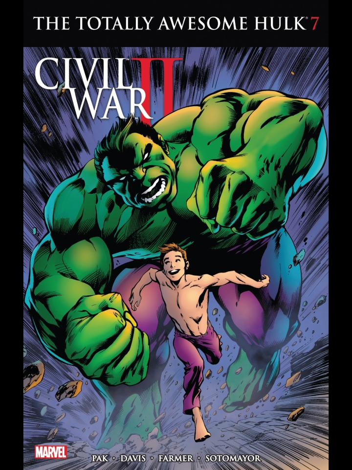 Loving the Alan Davis version of the Hulk