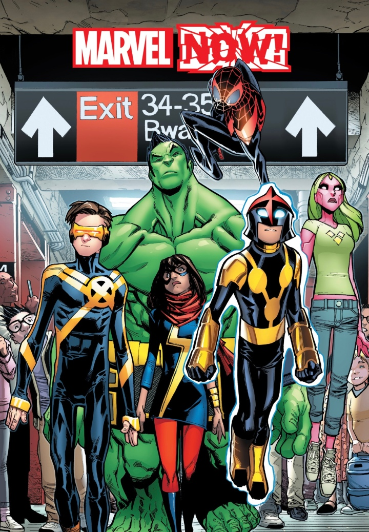 The Champions - a revitalized title with completely new members focusing on younger Marvel heroes