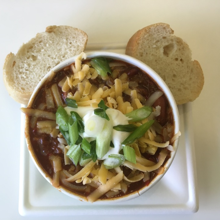 Walt's Chili served in honor of the man and the mouse at The Museum Cafe in WDFM