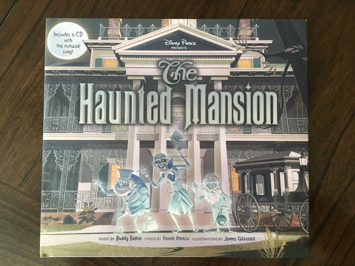 The cover to The Haunted Mansion picture book
