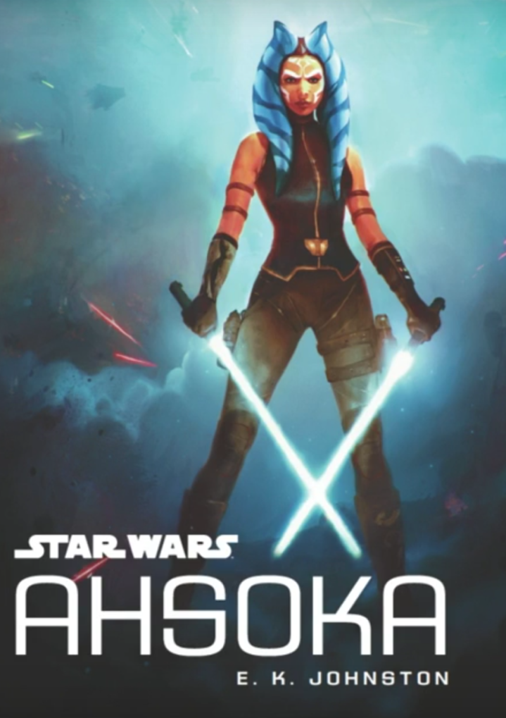 Book cover of the new Star Wars Ahsoka novel coming out in October