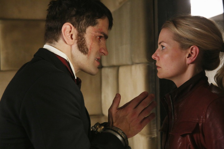 "ONCE UPON A TIME - ""The Savior"" - As ""Once Upon a Time"" returns to ABC for its sixth season, SUNDAY, SEPTEMBER 25 (8:00-9:00 p.m. EDT), on the ABC Television Network, so does its classic villain-the Evil Queen. (ABC/Jack Rowand) SAM WITWER, JENNIFER MORRISON"