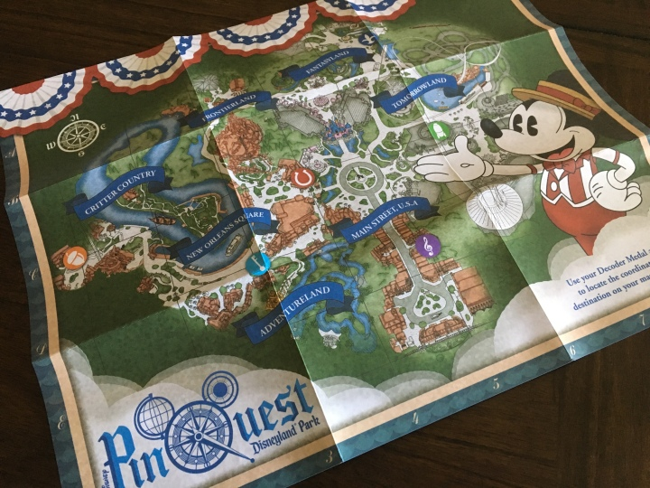 Find your way around the parks to your next destination with this handy map!